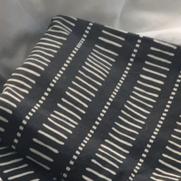 H M Accents Black And White Curtains Poshmark